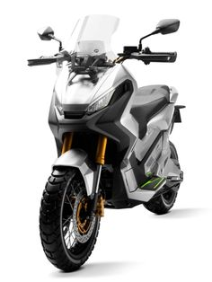 2016 Honda City Adventure Concept: The Off-Road Adventure Scooter The World Deserves - Real Time - Diet, Exercise, Fitness, Finance You for Healthy articles ideas Concept Motorcycles, Honda Motorcycles, Honda Bikes, Scooter Parts, Scooter Girl, Honda Scooters, Honda City, Off Road Adventure, Black And White Aesthetic