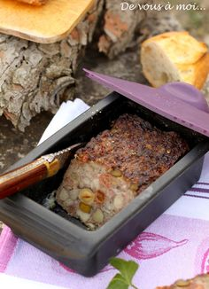 Terrine de lapin aux fruits secs