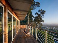 Berkeley Hills House - modern - porch - san francisco - yamamar design