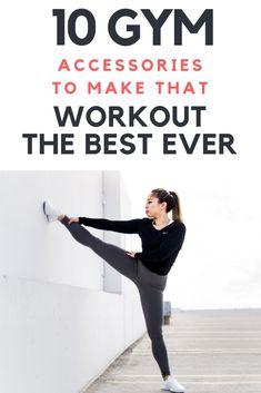 10 Women's Gym Accessories to make that workout the best ever. Ever wondered what you need to take to the gym or what is best. Love Fitness, Fitness Tips, Gym Fitness, Yoga Poses For Beginners, Workout For Beginners, 10 Gym, Gym Plans, Gym Accessories, Gym Routine
