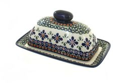 Polish Pottery Mosaic Flower Butter Dish *** Don't get left behind, see this great product - bakeware