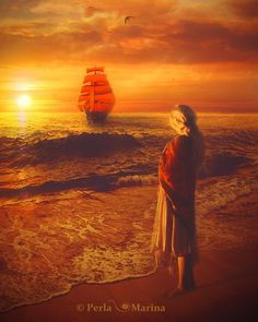 Kerrigan watches her father sail away to retrieve her sister from Court; little did she know it was the last time she would see him