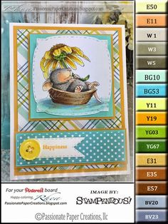 Passionate Paper Creations: Daisy Float - Stampendous