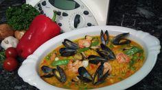 Rezept Paella, klassisch von Thermomix Rezeptentwicklung - Rezept der Kategorie Hauptgerichte mit Fleisch