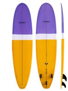 modern surfboards blackbird pu model