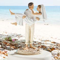 Über Google auf meine-hochzeitsdeko.de gefunden Beach Wedding Cake Toppers, Wedding Cakes, Strand, Animals, Wedding Ideas, Google, Newlyweds, Wedding Gown Cakes, Animales