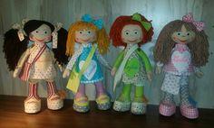 Bábiky z textilu