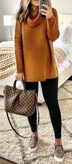 Stunning casual fall outfit with sneakers 20 Autumn outfits women, autumn outfit… Stunning casual fall outfit with sneakers 20 Autumn outfits women, autumn outfits vintage, autumn outfits women fall looks Cheap Fall Outfits, Winter Outfits Women, Casual Fall Outfits, Winter Fashion Outfits, Trendy Fashion, Fashion Models, Autumn Fashion, Cute Outfits, Womens Fashion