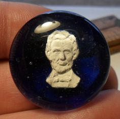 1 Presidential Sulfide Theresa Rarig Paperweight Antique Button - 3 by JuliaFineGoods on Etsy Paper Weights, Rings For Men, Buy And Sell, Buttons, This Or That Questions, Antiques, Handmade, Stuff To Buy, Etsy