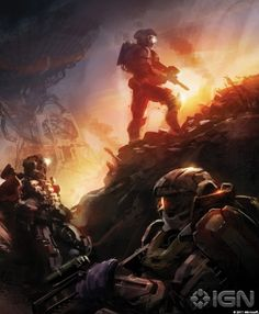 Halo: Reach Noble Team Concept Art
