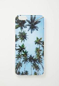 Get a little sunshine with this palm tree phone case.