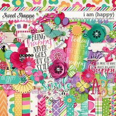 I Am {Happy}-Kit by Digilicious Designs & Meghan Mullens
