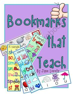 Bookmarks that Teach from Seejaneteachmultiage on TeachersNotebook.com (7 pages)  - This is a free product.  Give these bookmarks to your students when teaching short vowel sounds, blends and diagraphs.