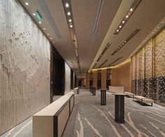 Conrad Hotel Beijing |  MAD Architects + Grand Sight Design International Limited + Lighting products: iGuzzini illuminazione