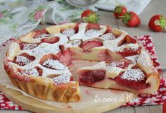 My Recipes, Sweet Recipes, Cake Recipes, Dessert Recipes, Strawberry Shortcake Cheesecake, Strawberry Desserts, Strudel, Delicious Desserts, Yummy Food