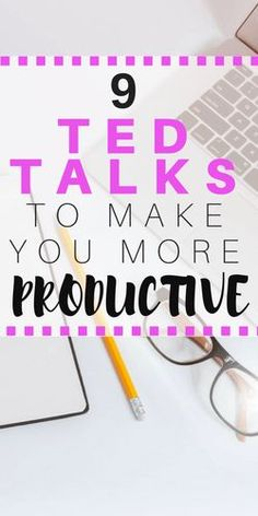TED TALKS FOR PRODUCTIVITY #tedtalks #productivity #mentalhealth