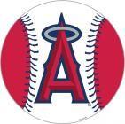 "Los Angeles Anaheim Angels 12"" Vinyl Magnets"