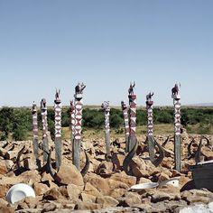 Mahafaly tomb. Sakaraha, Atsimo-Andrefana, Madagascar, 2013