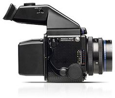 Mamiya RZ67, medium format film camera