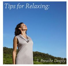 Take a 5 minute time-out and focus only on breathing.  Studies say deep breathing counters the effects of stress by slowing the heart rate and lowering blood pressure