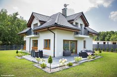 Beautiful House Plans, Beautiful Homes, Home Interior Design, Interior And Exterior, Burbank Homes, Deck Enclosures, Concrete Structure, My Dream Home, Building A House