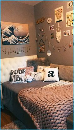 29 Ideas For Small Girls Bedroom Diy Small Room Bedroom, Room Decor Bedroom, Modern Bedroom, Small Rooms, Small Spaces, Couple Bedroom, Master Bedroom, Cute Girls Bedrooms, Cute Bedroom Ideas