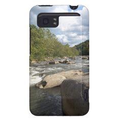 West Virginia River Scene #HTC #Vivid Cover #Zazzle