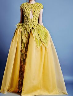 -eliesaab:  Jean Louis Sabaji Haute Couture S/S 2014.