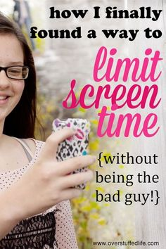 I am sick of being in trouble for making rules about screen time. I finally found a great way to limit the screens and not have to be the bad guy! Check it out! Mom tips Gentle Parenting, Parenting Advice, Screen Time For Kids, Limit Screen Time, Summer Checklist, Bon Point, Rules For Kids, Parenting Teenagers, First Time Moms