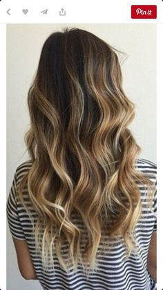 Hair Color Ideas For Brunettes Balayage Beach Waves 40 Ideas For 2019 Bronde Hair, Bronde Balayage, Bayalage, Balayage Highlights, Sunkissed Hair Brunette, Baylage Brunette, Beach Highlights, Beachy Blonde Hair, Honey Highlights