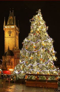 Old Town Hall in Christams time, Prague, Czechia