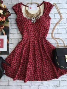Vestido - Estação Store I Dress, Dress Outfits, Casual Dresses, Short Dresses, Casual Outfits, Fashion Dresses, Summer Dresses, Mode Rock, Lovely Dresses