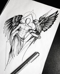 18 Best Tattoo Sketch Designs for Men and Women Related Beautiful Tattoo Designs Every Minimalist Will Best Arm Tattoo Ideas for Men Sketch Tattoo Design, Tattoo Sketches, Art Sketches, Art Drawings, Fish Drawings, Tattoos Arm Mann, Arm Tattoos For Guys, Lower Back Tattoos, Best Tattoos For Men