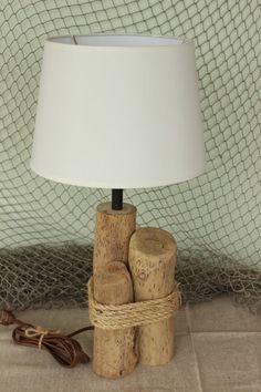 Nautical Driftwood Lamp / Table Lamp / Natural Lamp