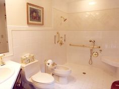 Another Beautiful Bathroom Grab Bar Disguised As A Corner