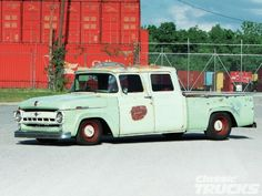 1957 Ford Crew Cab Driver Side