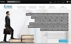 Striking MultiFlex- Home page designed with Revolution slider