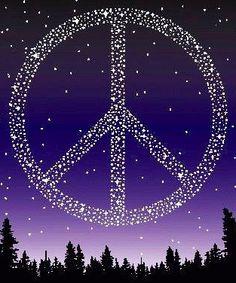 Peace sign via www.Facebook.com/PeaceFlash