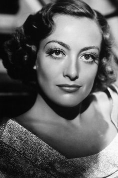 Joan Crawford - love the eyes and eyebrows. Classic