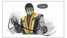 Scorpion Mortal Kombat, Mortal Kombat X, Drawing Ideas, Ninja, Universe, Paint, Color, Ideas For Drawing, Picture Wall
