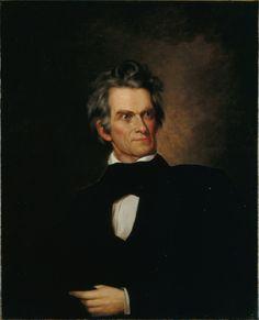 Portrait of John C. Calhoun.
