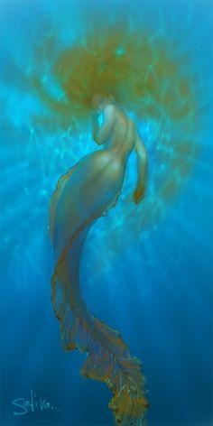 I'm his mermaid