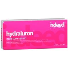 Buy indeed Laboratories hydraluron moisture serum with free shipping on orders over $35, low prices & product reviews | drugstore.com