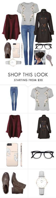 """""""Untitled #1314"""" by twisted-magic ❤ liked on Polyvore featuring Levi's, Topshop, Relaxfeel and CLUSE"""