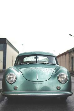 1951 Porsche 356 1100 Coupe   Pre-A   Luxury Sports Car   Steel Coupe   1.1L B4 40 hp   Part of the 2nd set of 500 units produced   Has the rare Distinct Split Windshield of the early 356