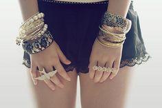 fashion jewelry photography | bracelets, fashion, girl, jewelry, photography, rings - image #19388 ...