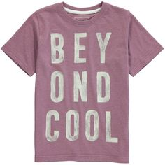 Boys Beyond Cool Slogan T-Shirt (3-13yrs) on shopstyle.co.uk