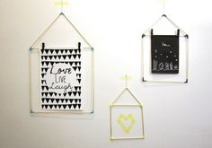 #diy-gifts #diy-project #easy-diy DIY: small houses to display children's drawings