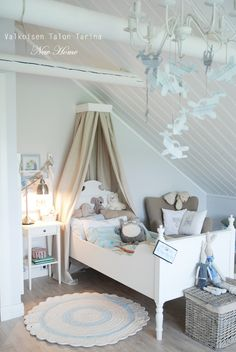 Sweet shabby chic little boy's room 3 (♥)shabby chic kiddos( Toddler Boy Room Decor, Boys Room Decor, Kids Bedroom, Shabby Chic Bedrooms, Shabby Chic Homes, Creative Kids Rooms, Peaceful Bedroom, Baby Nursery Furniture, Little Girl Rooms