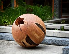 Another ball, wooden this time